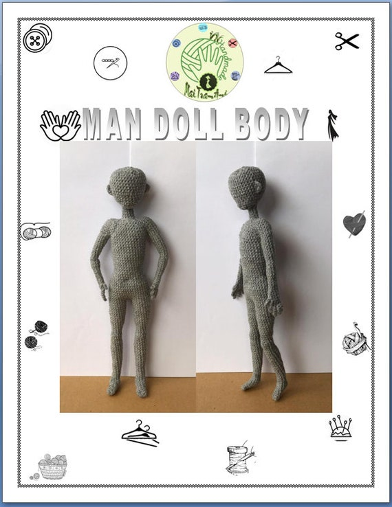 Realistic Body Crochet Doll Tutorial | Part 1 | Doll Body Types ... | 738x570