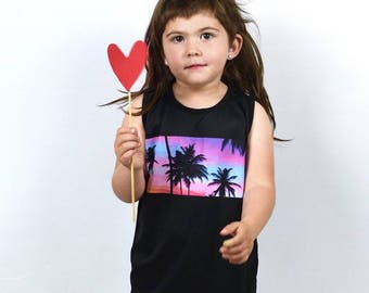 T-shirt Baby Kid Tropical Print-T-shirt child tropical print
