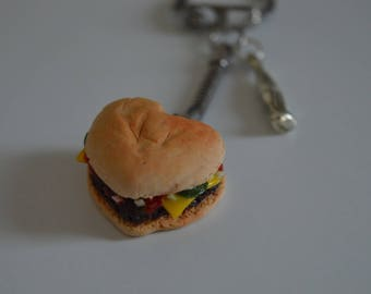 Key - heart shape Cheeseburger