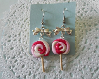 American earrings - Lollipop lollipop
