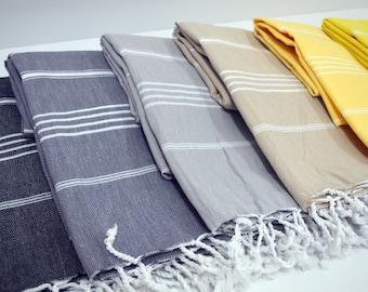 Turkish Towel,Turkish Beach Towel,Turkish Bath Towel,Turkish Towel Set,Turkish Blanket Peshtemal,Bridesmaid gift,Wedding Gift,Wedding Favor