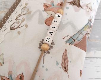 Diaper bag, diaper bag, diaperclutch, gift for birth, diaper bag, XXL diaper bag, diaper bag with name, diaper bag to go