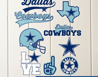 INSTANT DOWNLOAD-Dallas Cowboys SVG,Dallas Cowboys Cut Files,Dallas Cowboys Dxf,Dallas Cowboys Baseball Clipart