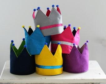 Crown | Royal Costume | Felt Crown | Kids Dress Up | Kids gift, pretend play, crown, Montessori, Prince, princess, queen, king