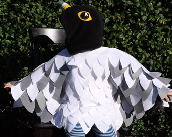 Peregrine Falcon Costume | FREE POSTAGE | Halloween, Montessori, bird costume, bird fancy dress, dress up, kids gift, falcon costume