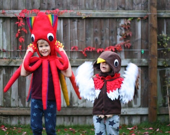 Robin Costume | Kids Dress up, Kids Costume, Bird Costume, St Davids Day, Fancy Dress, Personalised Gift, Montessori