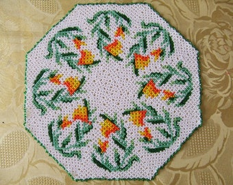 DOILY Pearl multicolored seed beads