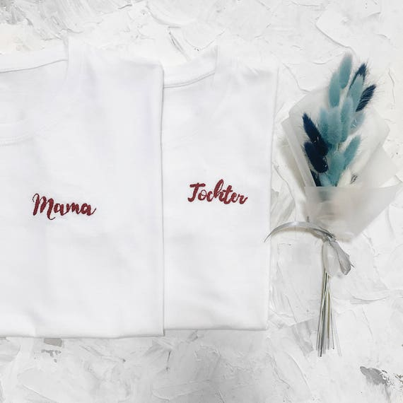 Custom t-shirt hand embroidery, Personalized gift t shirt, Custom t shirt design, Calligraphy t-shirt design, personalized gift for her