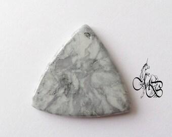 "Flat cabochon polymer clay ""imitation gray stone"" #2"