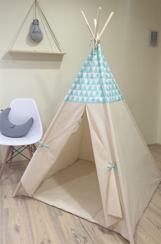 tipi enfants jouer wigwam tente tipi pour enfants tipi etsy. Black Bedroom Furniture Sets. Home Design Ideas