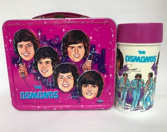 1973 The OSMONDS Lunch Box with Original Thermos!