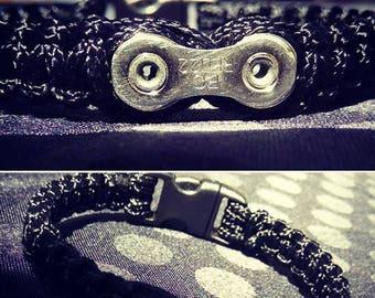 Bike chain bracelet paracord_Maillon