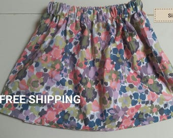 abstract floral size 4T
