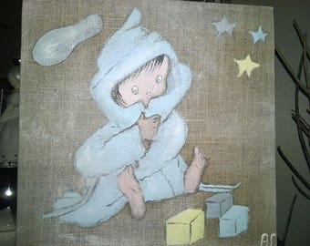 Panel painting for children