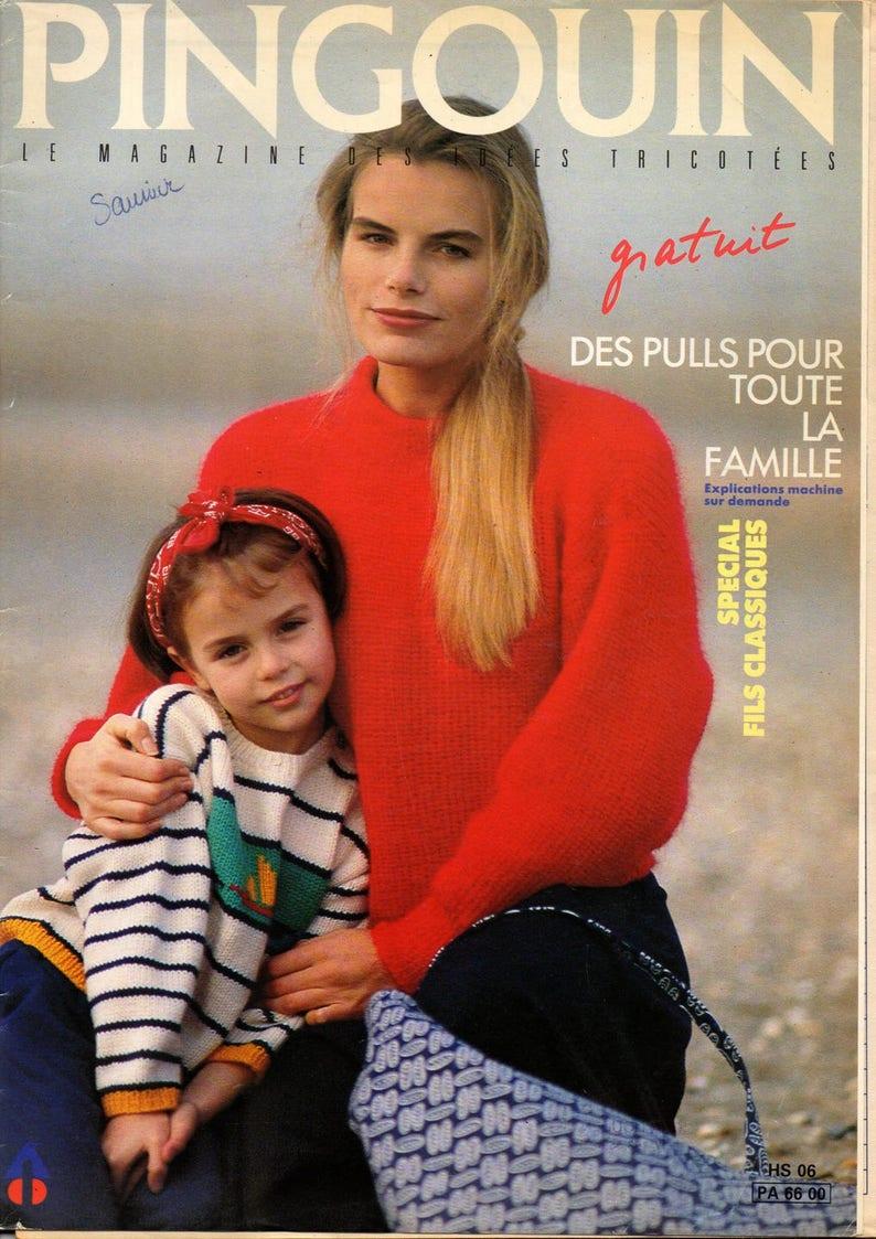 plus près de bon out x images détaillées Catalog knit Penguin family special, more accessories 22 designs