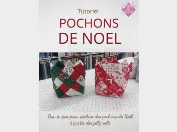 Tuto Pochon De Noël Tissé Avec Des Jelly Rolls Diy Pochon Etsy