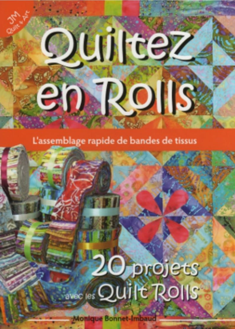 PROMO  Book Quiltez en Rolls The quick assembly image 0