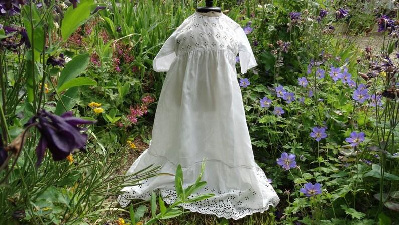 Victorian baptism antique baptism long dress vintage christening dress vintage christening outfit Old baptism dress baby baptism dress
