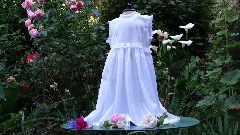 girl communion dress great christening gown Little girl wedding dress little flower girl wedding dress lace white dress