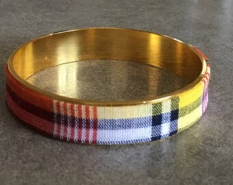 Bracelet 100% cotton madras