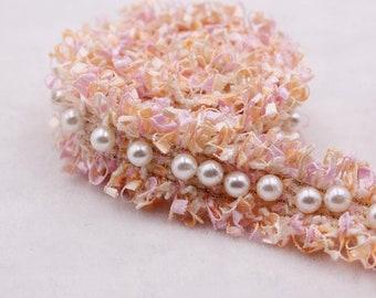 30 Pièces Perle Perles Chaînes de tétine Bois Ø 20 mm trou 3,8 mm Bricolage Rose