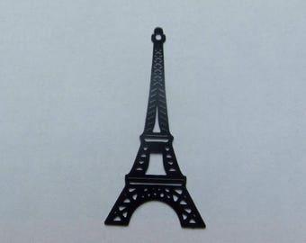 Black filigree Eiffel Tower