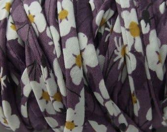 Liberty Mitsy purple 100% cotton 50 cm
