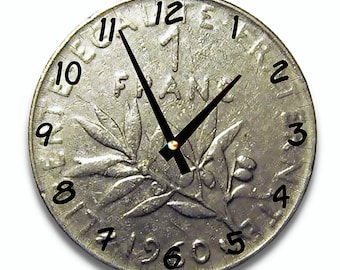 Wall clock design 1 FRANC