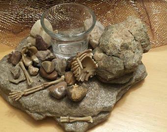 Bones and Stones Votive