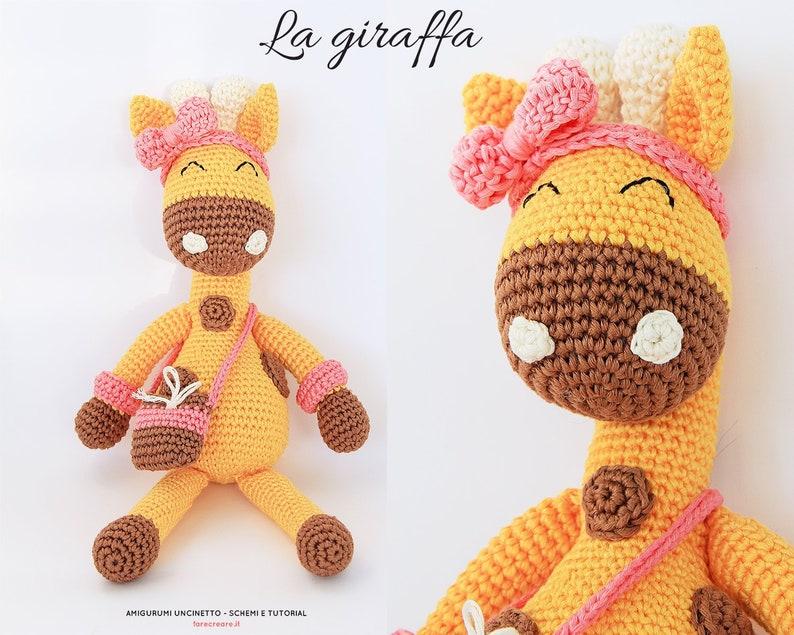 Tutorial Giraffa Animali Amigurumi A Uncinetto Italiano Etsy