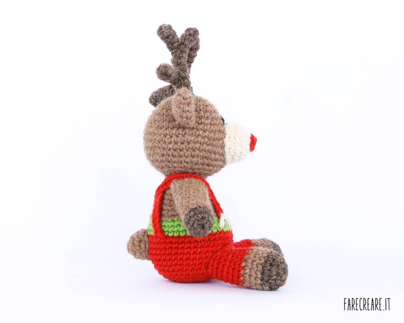 Renna Natale Di Amigurumi Tutorial Schema UncinettoEtsy nwk0P8O