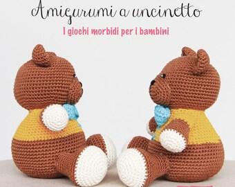 LIBRO amigurumi a uncinetto per bambini - con spiegazioni base e schemi in italiano.