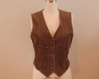 1970's Corduroy Waistcoat