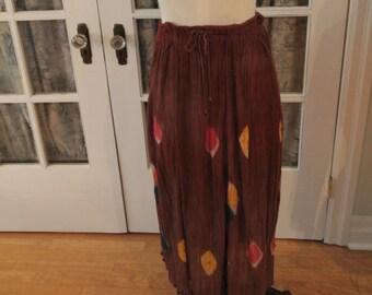 1970's Tie Dye Skirt