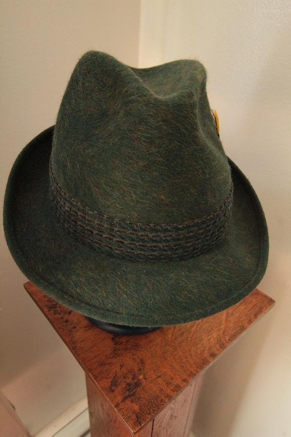 1950's Green Felt NOS Stetson Fedora