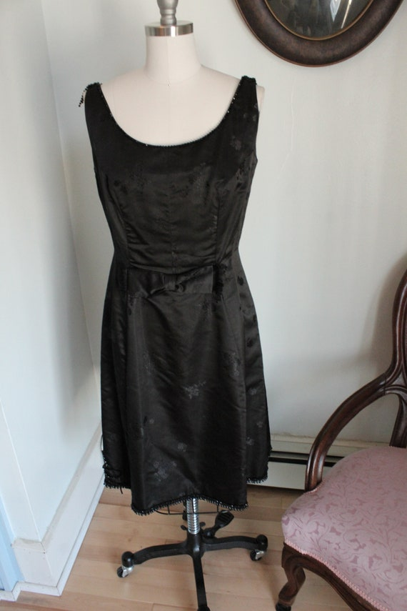 1950's Little Black Dress with Beading