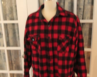 1980's Woolrich Plaid Shirt