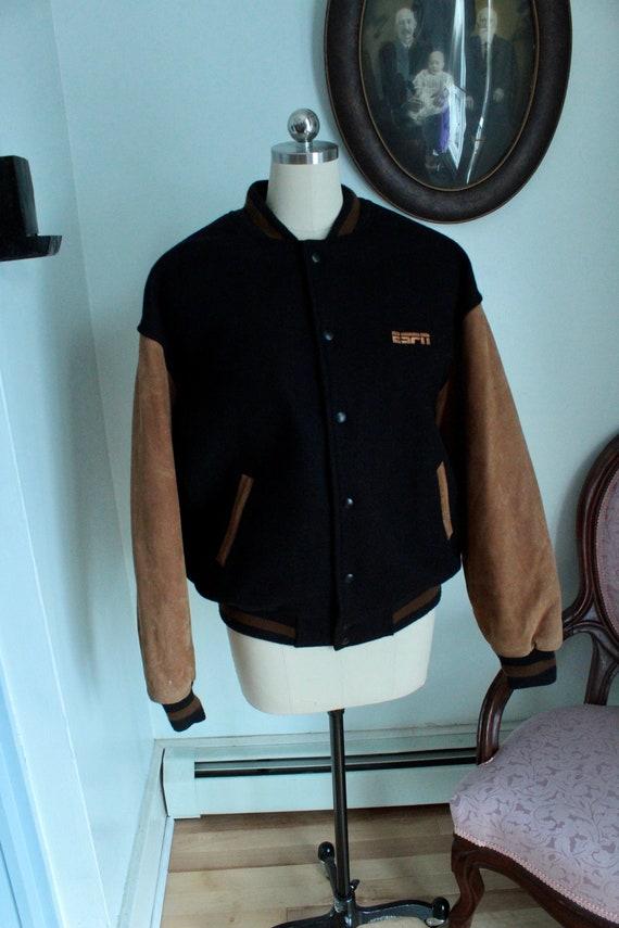 1990's ESPN Varsity Jacket - image 1