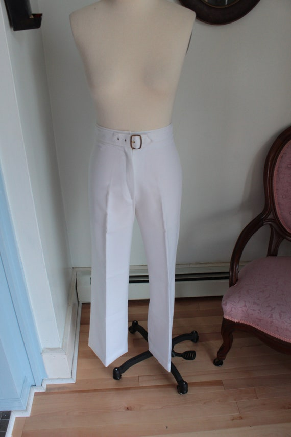 1970's Nautical Style Bell Bottoms
