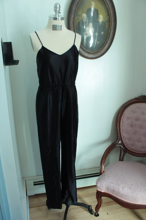 1970's Black Jumpsuit