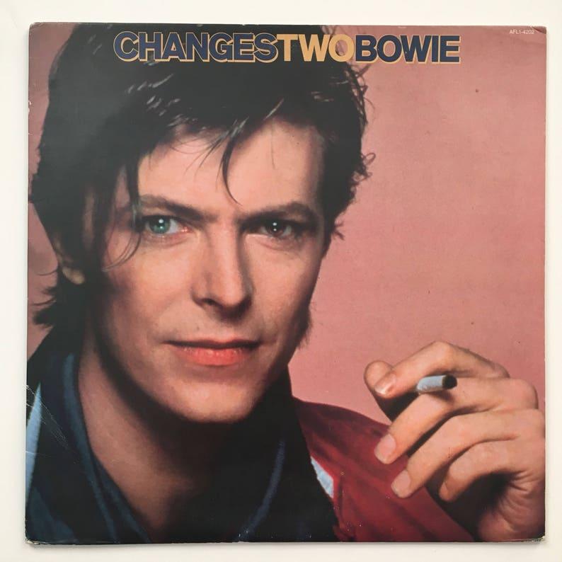 Changes Two Bowie, Vintage Record LP, David Bowie Album