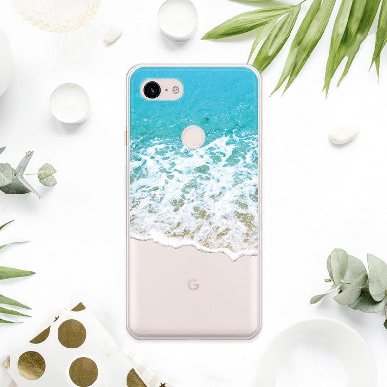 Miami Beach Google Pixel 3a XL Case Water Google Pixel 3a Cover Tropic  Google Pixel 3 XL Case Island Pixel 2 XL Case Ocean Pixel 2 AMM6194