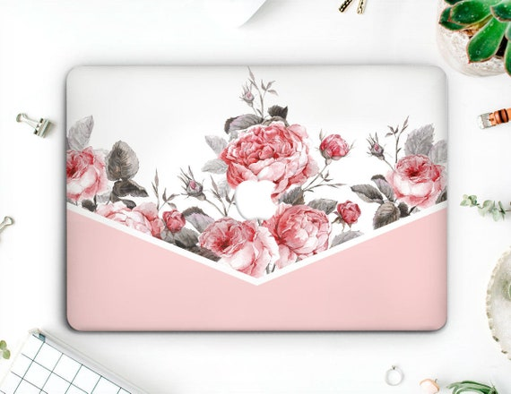 reputable site a8ab3 f5531 Succulents Floral Macbook Hard Case Laptop 2019 Sleeves Macbook Air 13 2018  Macbook Pro Case Macbook Flowers 12 Mac 15 Cover Roses AMM2007