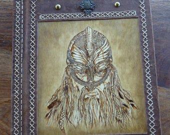 "Available: Large spellbook ""Warrior spirit"", viking style"