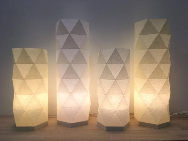 Origami folding lamp image 0