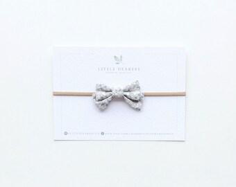 Mini sailor bow - Warm heart