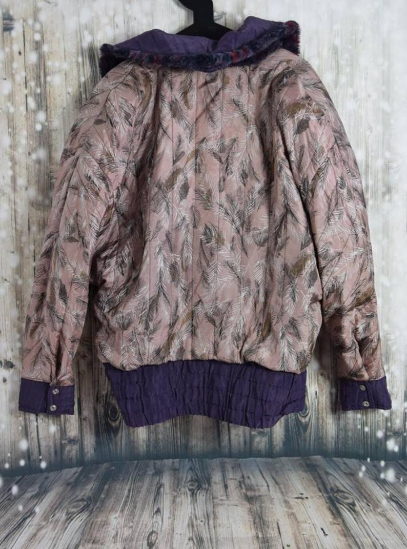 Vintage Two-sided funky bomber coat C/_006