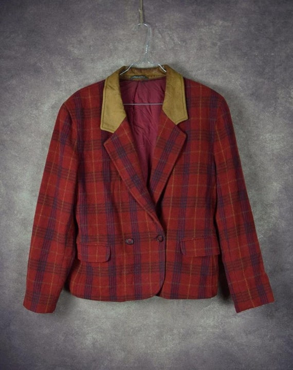 DBL_025) Vintage 80 's designer PENNY BLACK woolen