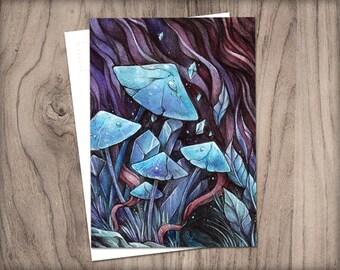 POSTCARD Fungi