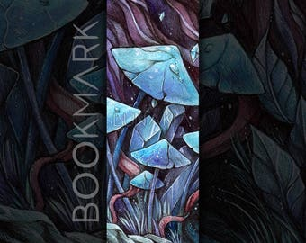 "Bookmark of ""Fungi & Crystal """